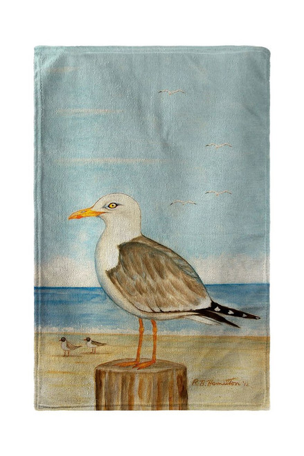 Dick's Seagulls Beach Towel