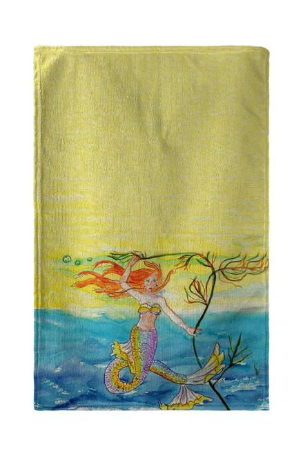 Betsy's Mermaid Beach Towel