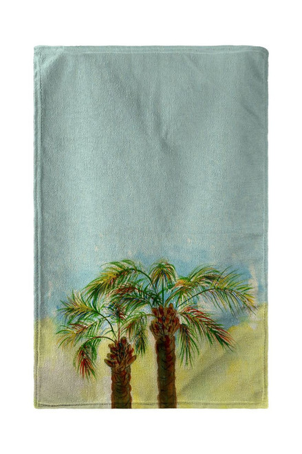 Betsy's Palms Beach Towel