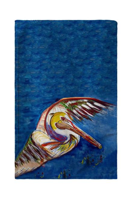 Pelican Wing Beach Towel