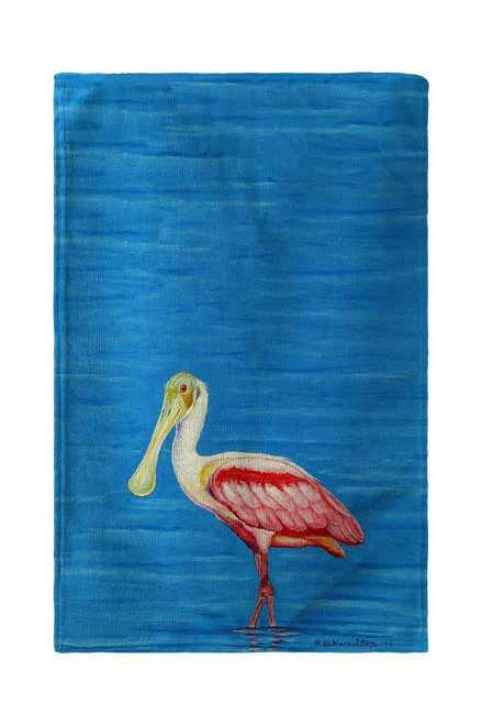 Dick's Spoonbill Beach Towel