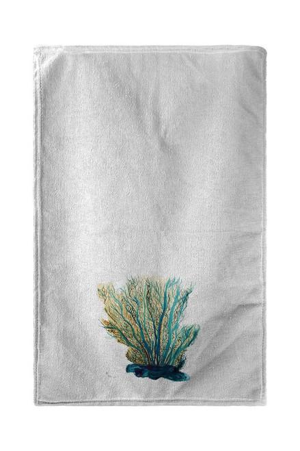 Blue Coral Beach Towel
