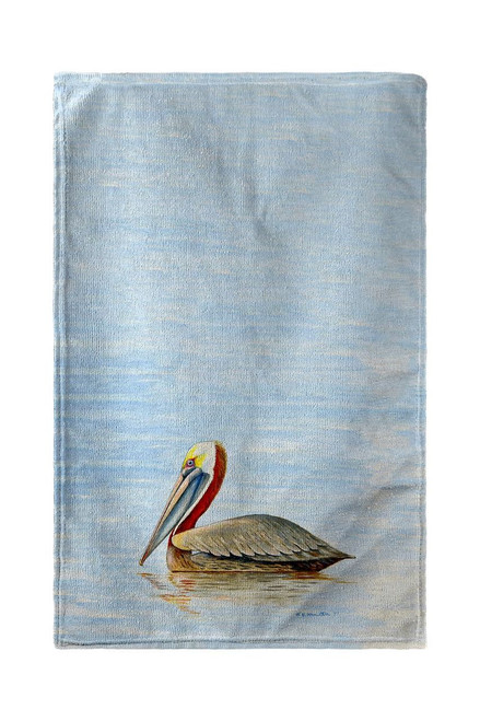 Summer Pelican Beach Towel