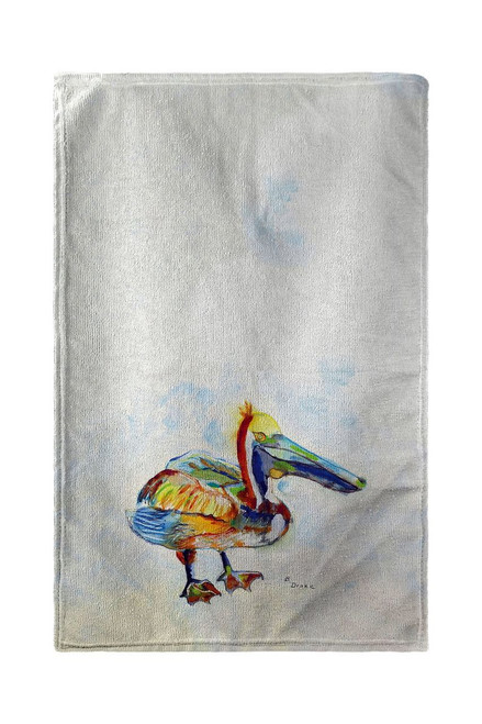 Heathcliff Pelican Beach Towel