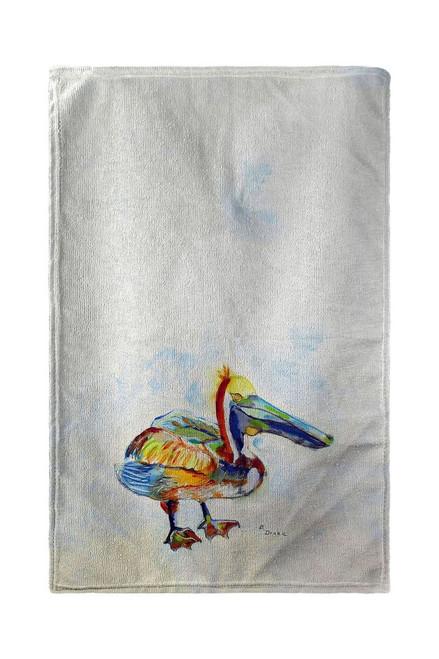 Heathcliff Pelican Beach Towel