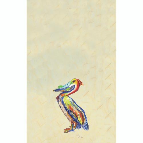 Sylvester Pelican Beach Towel