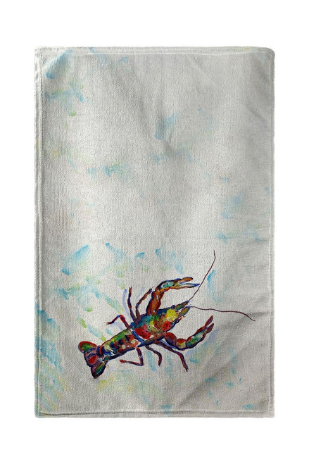 Crayfish Beach Towel