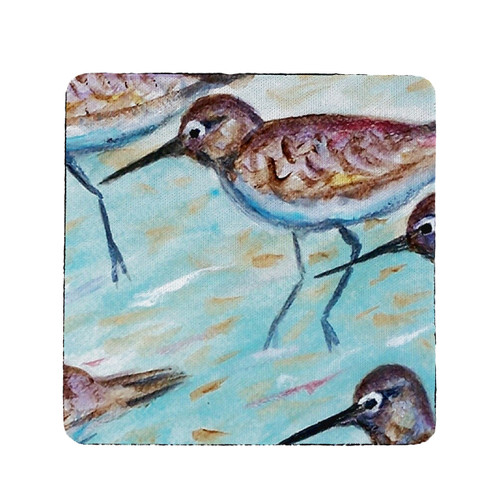 Sandpipers Coasters - Set of 4