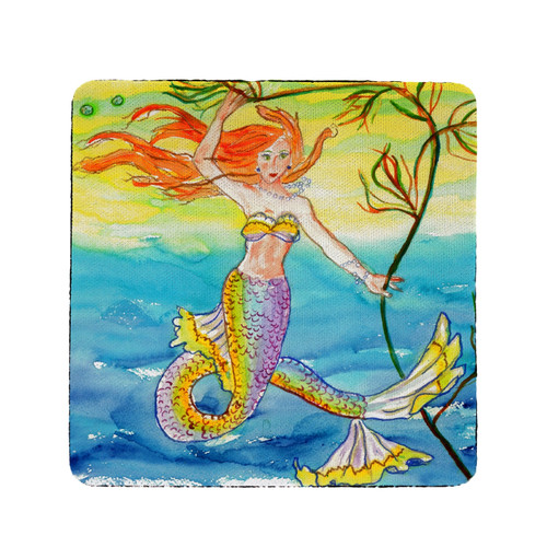 Betsy's Mermaid Coasters - Set of 4