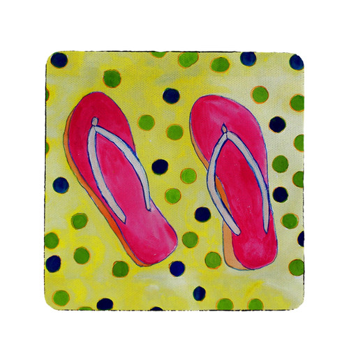 Flip Flops Coasters - Set of 4