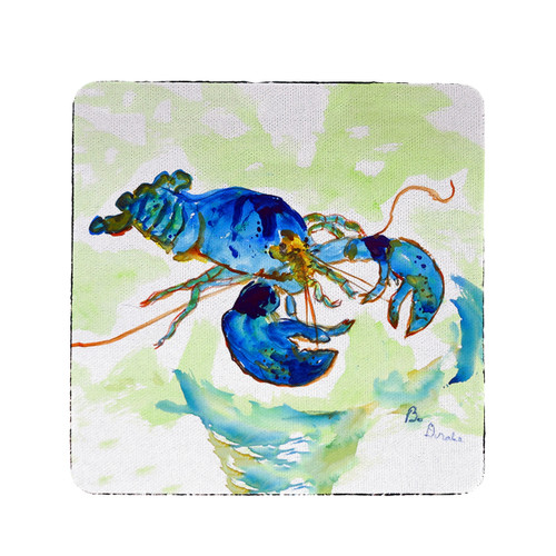Green Blue Lobster Coasters - Set of 4