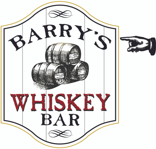 Whiskey Bar Sign - Personalized