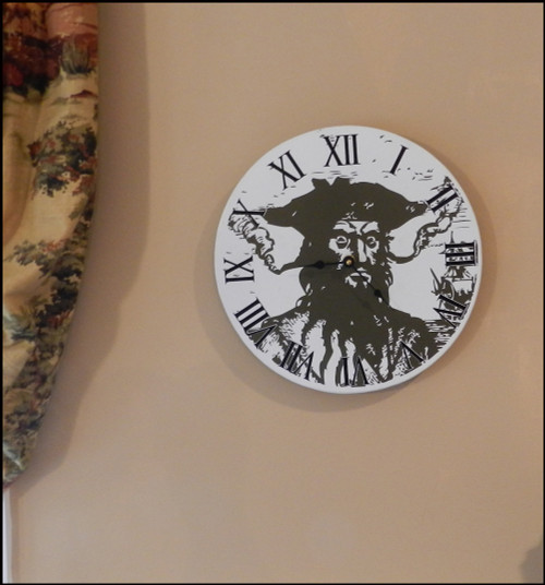 Blackbeard Clock
