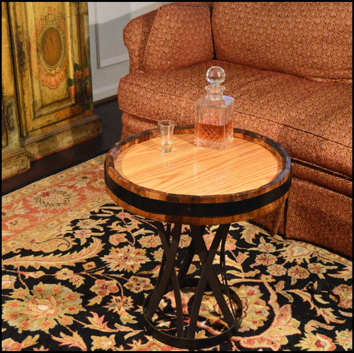 Quarter Barrel Coffee Table