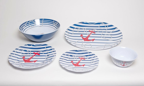 3 Piece Setting with Platter and Serving Bowl