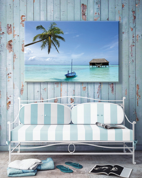 Honeymoon Outdoor Canvas Art