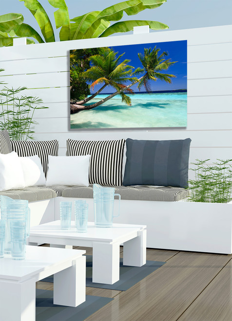 Palms Duo Outdoor Canvas Art