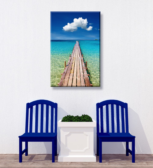 Walk On Water Outdoor Canvas Art