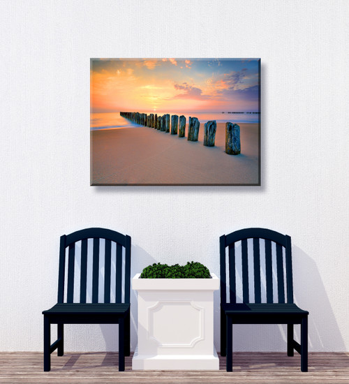 Silent Sea Outdoor Canvas Art