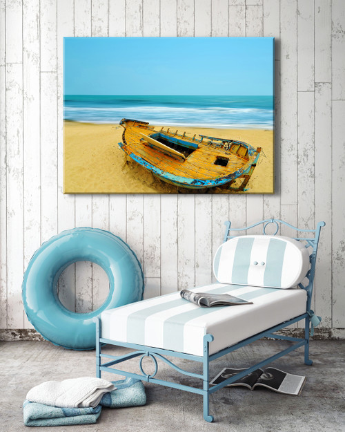 Deserted Outdoor Canvas Art