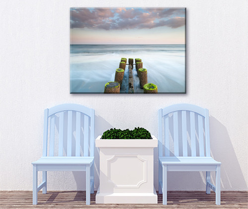 Timeless Tide Outdoor Canvas Art