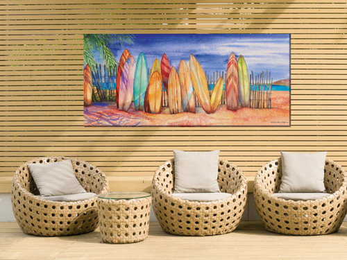 Surfs Up Outdoor Canvas Art