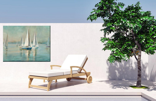Smooth Sailing Outdoor Canvas Art