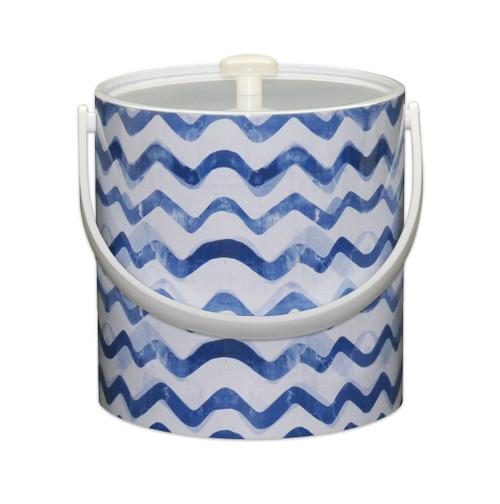 Blue Wave Ice Bucket -  3qt