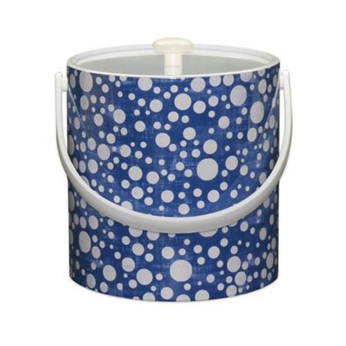 Blue Bubbles Ice Bucket - 3 qt