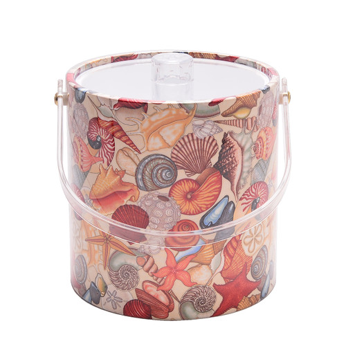Sea Shells Ice Bucket - 3qt