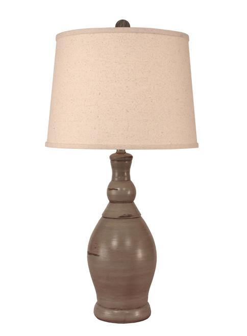 Oyster Shell Slender Neck Table Lamp
