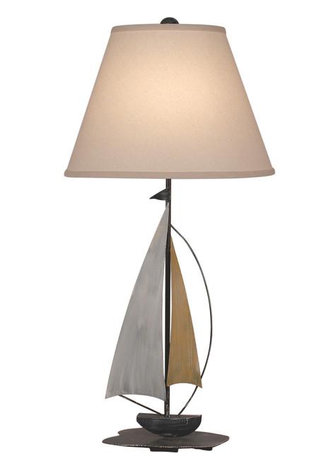 Sail Iron Sailboat Accent Lamp