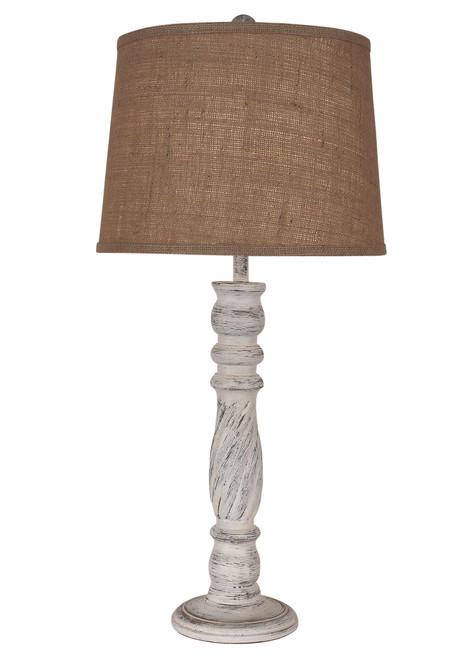 Shabby Swirl Table Lamp