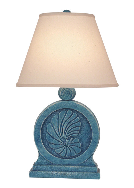 Weathered Nautilus Shell Table Lamp