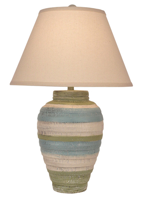 Summer Small Pottery Table Lamp