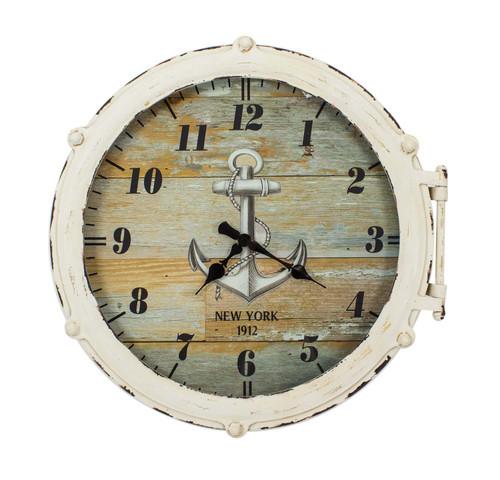 """Porthole Clock 18"""""""