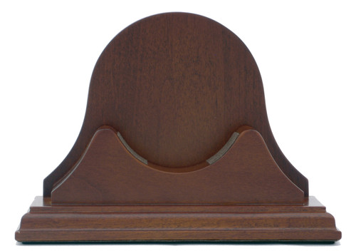 100B Mahogany Base with High Back for Atlantis Collection