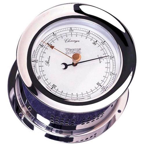 Chrome Plated Atlantis Barometer (220700)