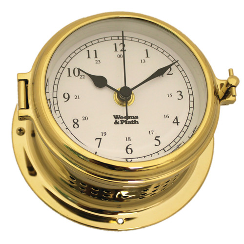 Endurance II 115 Brass Quartz Ship's Bell Clock (510100)