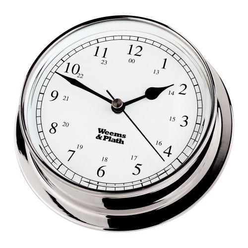Chrome Endurance 125 Quartz Clock
