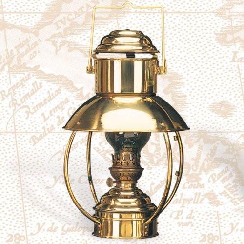 "Brass Trawler Lamp - Oil - 11"""