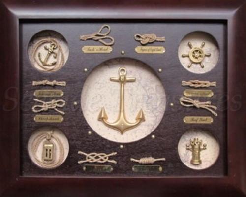 """Anchor Knot Board - 15"""" x 11.8"""""""