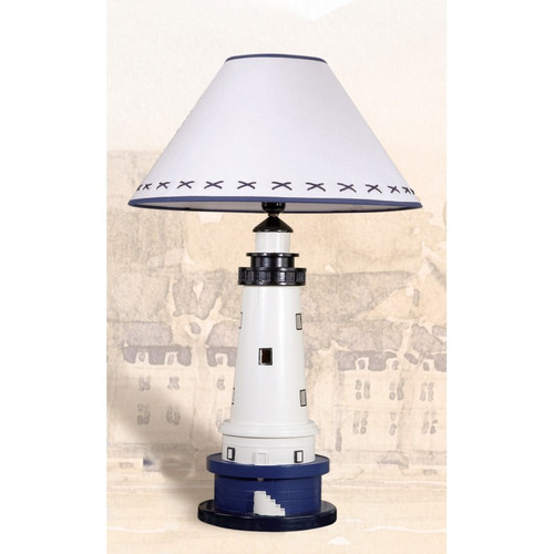 Lighthouse Lamp on Stand - 26.75""