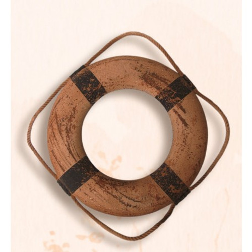 "Life Ring -  Antique - 13.75"" Dia."