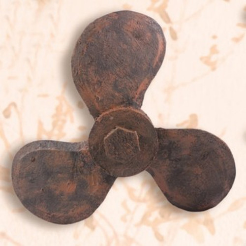 "Distressed Wooden Propeller - 12 3/4"" (MP-2008)"