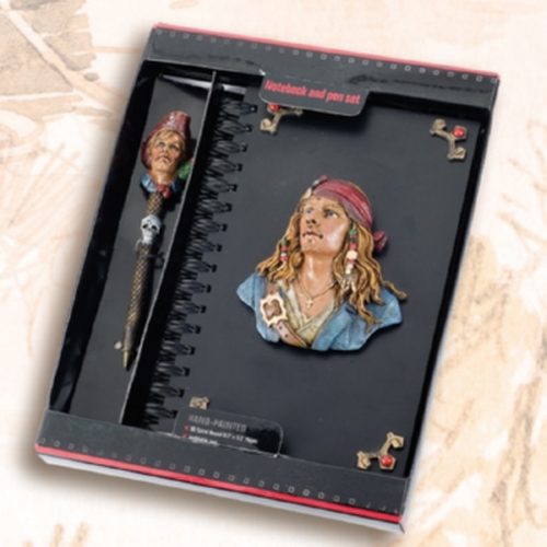 Headscarf Pirate Journal with Pen