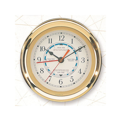 "(TD-246) 7.5"" Captain Tide Clock"