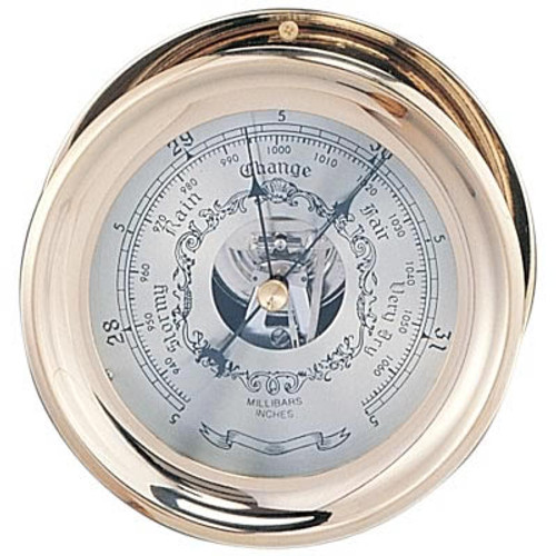 Captain Barometer with Lacquer Coating - 7.5""