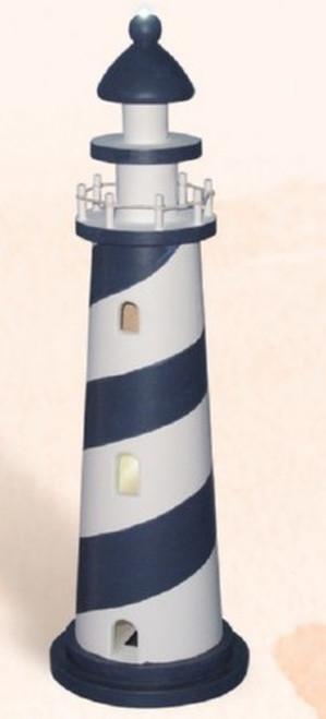 """LED Lighthouse, Blue - 17.5"""""""