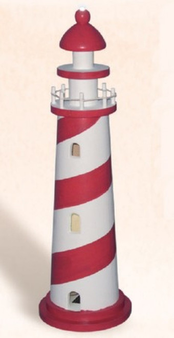 LED Lighthouse, Red - 17.5""